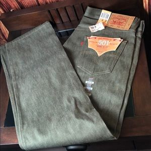 Levi's Original  501 Straight Leg 38x32